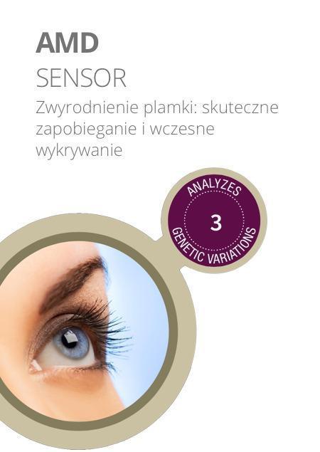 test amd sensor - Badanie DNA Zwyrodnienie plamki żółtej oka